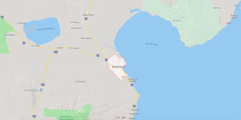 barahona-mapa