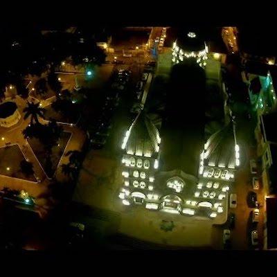 catedral de santiago de noche