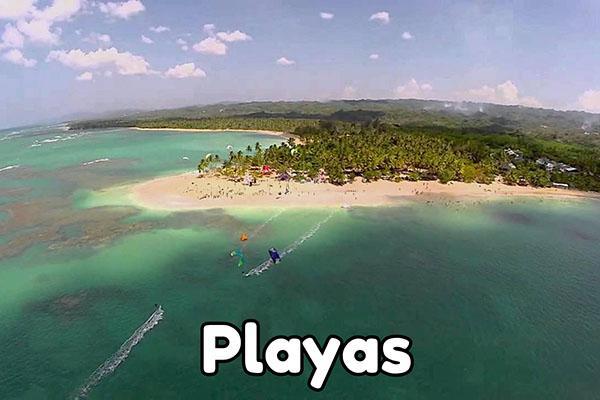 las terrenas playas