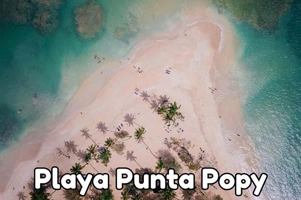 playa punta popy las terrenas