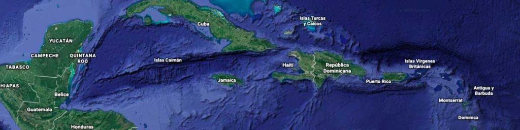 republica dominicana en el mar caribe